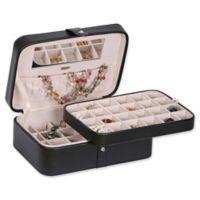 Mele & Co. Lila Medium Jewelry Box in Black