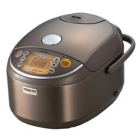 Zojirushi 10-Cup Induction Pressure Rice Cooker & Warmer in Brown
