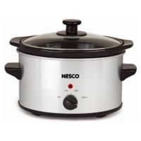 NESCO® 1.5 qt. Everyday Slow Cooker in Silver