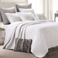 Levtex Home Olenna Reversible King Quilt in White