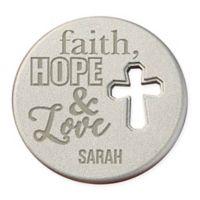 Faith, Hope & Love Cross Pocket Token