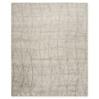Nourison Ellora 7'9 x 9'9 Hand-Knotted Area Rug in Stone