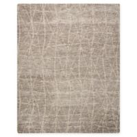 Nourison Ellora 7'9 x 9'9 Hand-Knotted Area Rug in Sand