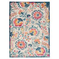 Nourison Passion 3'9 x 5'9 Loomed Area Rug in Ivory