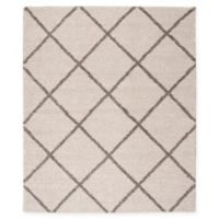 Nourison Brisbane 9' x 12' Loomed Area Rug in Cream