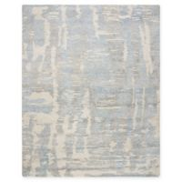 Nourison Ellora 9'9 x 13'9 Hand-Knotted Area Rug in Blue