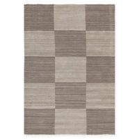 Chandra Rugs Elantra 5' x 7'6 Hand Knotted Area Rug in Cream/Brown