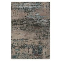 Chandra Rugs Rupec 5' x 7'6 Hand Tufted Area Rug in Beige/Blue