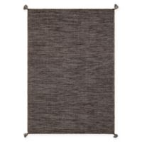 Chandra Rugs Sybil Flat-Weave 5' x 7'6 Area Rug in Brown