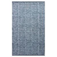 Chandra Rugs Tanya 5' x 7'6 Area Rug in Blue