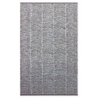 Chandra Rugs Tanya 5' x 7'6 Area Rug in Brown