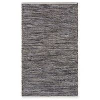 Chandra Rugs Tanya 5' x 7'6 Area Rug in Black/Beige