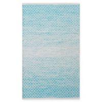 Chandra Rugs Tanya 7'9 x 10'6 Area Rug in Blue/White