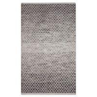 Chandra Rugs Tanya 7'9 x 10'6 Area Rug in Black/White