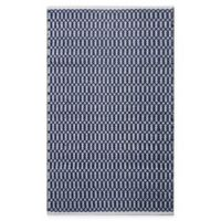 Chandra Rugs Tanya 9' x 13' Area Rug in Navy/White