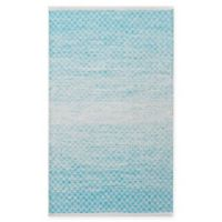Chandra Rugs Tanya 9' x 13' Area Rug in Blue/White