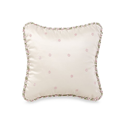Glenna Jean Meadow Dot Pink Pillow