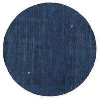 Chandra Rugs Gabi 7'9 Roung Hand-Knotted Rug in Blue