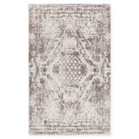 Chandra Rugs Tayla Hand-Tufted 7'9 x 10'6 Area Rug in Grey/White