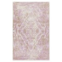 Chandra Rugs Tayla Hand-Tufted 7'9 x 10'6 Area Rug in Purple/Brown