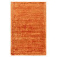 Chandra Rugs Gelco Hand-Woven 7'9 x 10'6 Area Rug in Orange