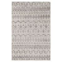 Chandra Rugs Genna Hand-Knotted 7'9 x 10'6 Area Rug in Grey