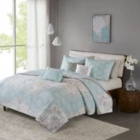 Madison Park Lucinda Reversible Full/Queen Coverlet Set in Blue