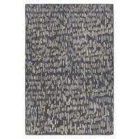 Chandra Rugs Misty 5' x 7'6 Area Rug in Black/Grey