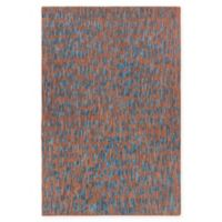Chandra Rugs Misty 7'9 x 10'6 Area Rug in Brown/Blue