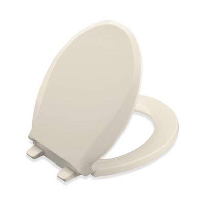 Buy Almond Toilet Seat from Bed Bath & Beyond