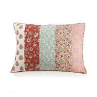 Jessica Simpson Caledonia Standard Pillow Sham in Red