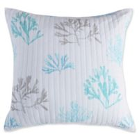 Levtex Home Kapalua Bay Coral European Pillow Sham in Blue/White