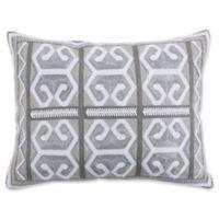 Levtex Home Nia Rectangle Throw Pillow in Grey