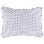 Levtex Home Olenna Standard Pillow Sham in White