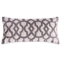 Levtex Home Penelope Stripe Crewel Throw Pillow