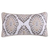 Levtex Home Shayna Diamond Medallion Oblong Throw Pillow in Taupe