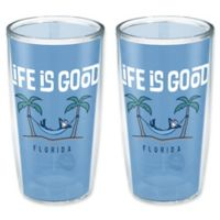 Tervis® Life is Good® Florida Palm Trees 16 oz. Wrap Tumblers (Set of 2)