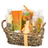 Frieda and Joe Manga-Pear Bath and Body Gift Basket