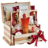 Freida & Joe French Vanilla Jewelry Box Fragrance Spa Set