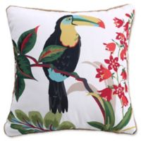 Levtex Home Teraina Toucan Square Throw Pillow in Taupe