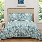 Truly Soft Celine Full/Queen Quilt Set in Teal