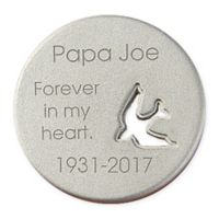 Lost Love Memorial Dove Pocket Token