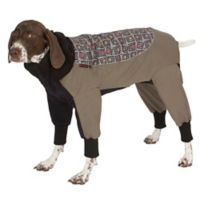 Ultra Paws Weathermaster XX-Small Dog Snowsuit with Ultra-Heat Liner in Gray