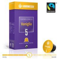 gourmesso 10-Count Vanilla Soffio Vaniglia Nespresso® Compatible Espresso Capsules