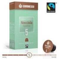gourmesso 10-Count Hazelnut Soffio Nocciola Nespresso Compatible Espresso Capsules