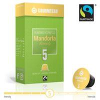 gourmesso 10-Count Almond Soffio Mandorla Nespresso Compatible Espresso Capsules