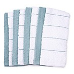 Diamond 8-Pack Kitchen Towels in Blue
