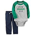 carter's® Size 9M 2-Piece  Shenanigans  Bodysuit and Pant Set