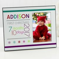 Baby's First Christmas 8-Inch x 10-Inch Photo Frame