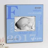 All About Baby 5-Inch x 7-Inch Wall Frame in Blue